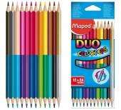 Buntstifte Color'Peps Duo 12er von Maped