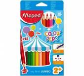 Buntstifte Color'Peps Jumbo 12er von Maped