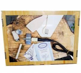 Brennpeter 1 Geschenkset - Hobbyring Brenngerät - Bild vergrößern