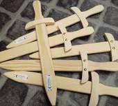 Holz-Schwert natur - Kinderschwert ca. 44 cm