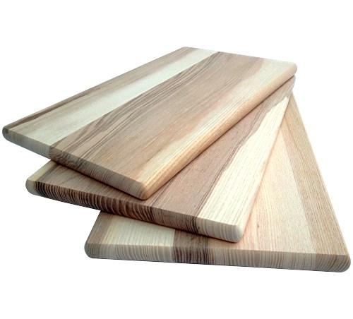 holz schneidebrett esche geoelt 30x18 cm rechteckig. Black Bedroom Furniture Sets. Home Design Ideas