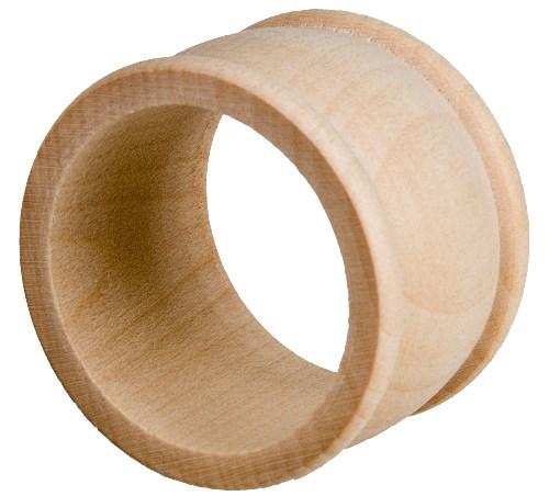 Serviettenring aus Holz - Ahorn Serviettenhalter