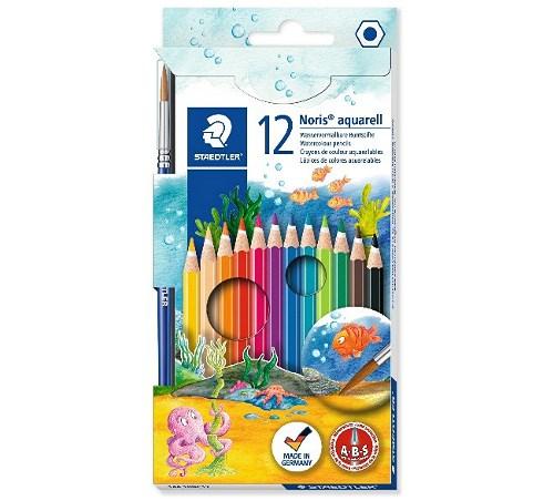 Ausmalstifte für Holz 12er Set mit Pinsel - Brandmalerei Zubehör